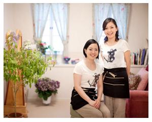 Bateau Aromatiqueの専属セラピストは京都生まれ、大津育ちの二人姉妹。