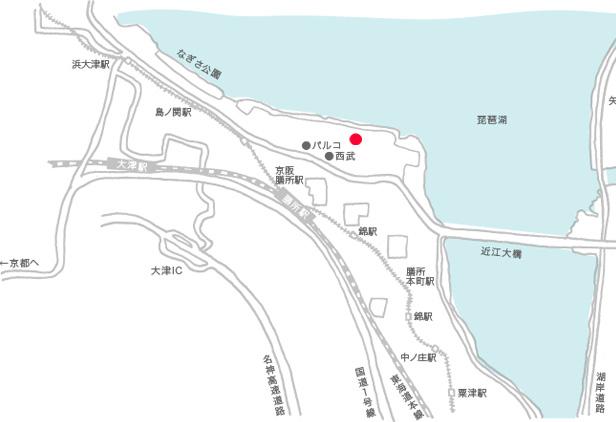 プチバトーマリアージュ 地図